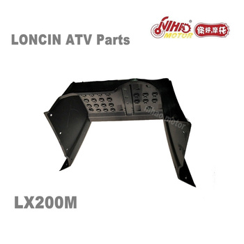 LX-197 LONCIN ATV PARTS Footrest backplane pedal left LC162FMK LX200M 200cc Quad GoKarts Engine Spare For JIANSHE  KAYO BULL