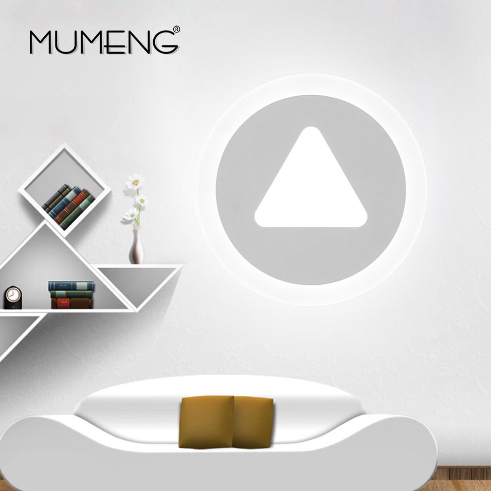 MUMENG 10 Watt 220 V LED Wandleuchte Moderne Design Acryl Persnlichkeit Wand Innen Schlafzimmer Wohnzimmer