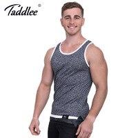Taddlee Brand Fashion Mens Tank Top Tee Shirts Sleeveless Soft New 2017 Apparel Solid Bodybuilding Stylish