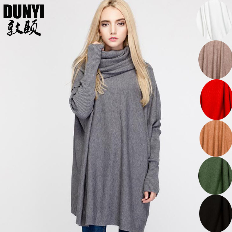 Pregnant Women Tops Maternity Sweaters Clothes 2018 Large Size Women's Loose Long-sleeved Long Solid Color Sweaters  One SIZE