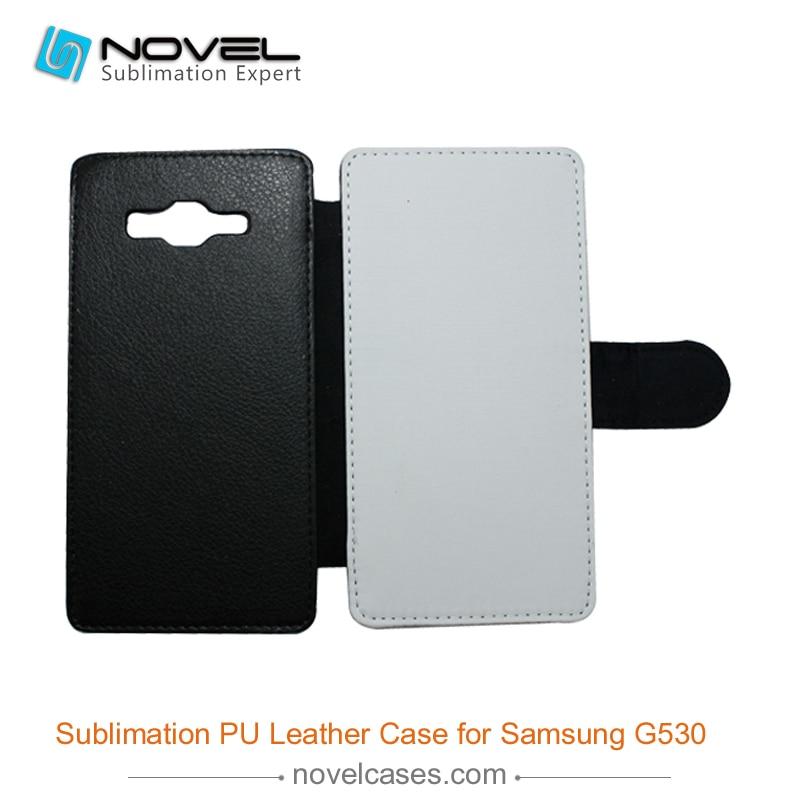 Blank White Pu Abdeckung Matte Pc Halter Für Samsung Grand Prime G5306 GroßEr Ausverkauf