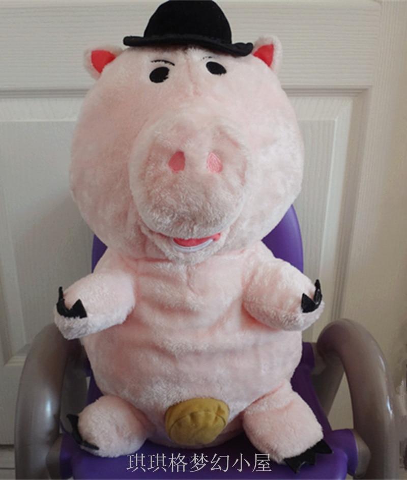 Original Big Toy Story Ham Piggy Pig Animal Soft Plush Toy