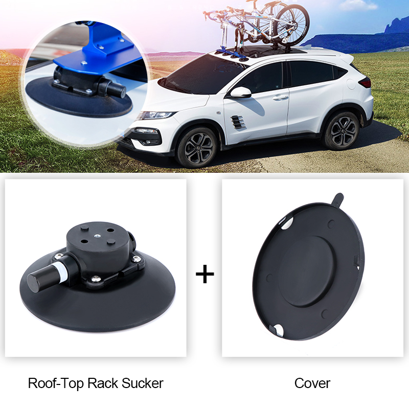 ROCKBROS Bike Carrier Sucker Fixing Device MTB Road Bike Hub Fixed Base Bicycle Rack Roof Top