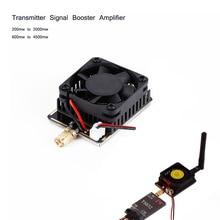 Беспроводной усилитель сигнала передатчика 5,8G 3W/4,5 W, расширитель диапазона для FPV RC вертолета