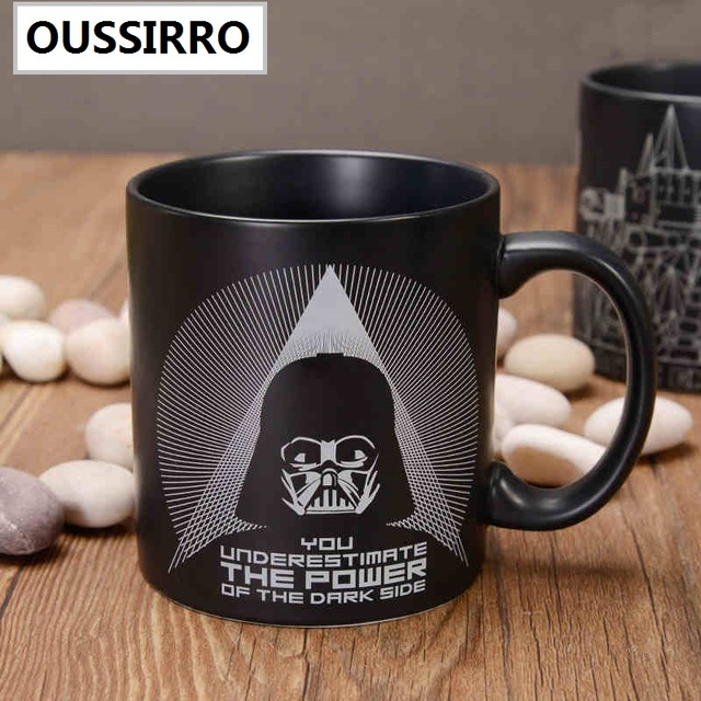 aliexpress com buy oussirro fashion star wars ceranic mugs cup