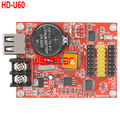 HD U60 HD-U60 1*HUB08 2*HUB12 512*32 USB LED control card Single & Dual Color LED control card 10pcs/lot