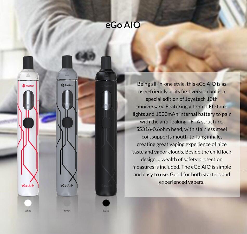 Joyetech eGo AIO Vape Kit 10th Anniversary Limited Edition
