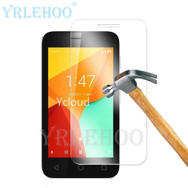 e70e0399aa0 Para vodafone smart mini 7 4.0 pulgadas 1 unid vidrio templado película  Premium Protector de Pantalla
