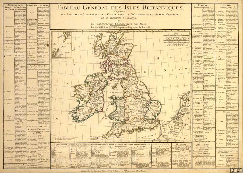 ⑤Vintage Reino Unido Gran Bretaña Irlanda Mapas lienzo vintage ...