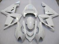 Nieuwe hot moto onderdelen kuip kit voor Kawasaki Ninja ZX10R 04 05 wit stroomlijnkappen set ZX10R 2004 2005 OT16