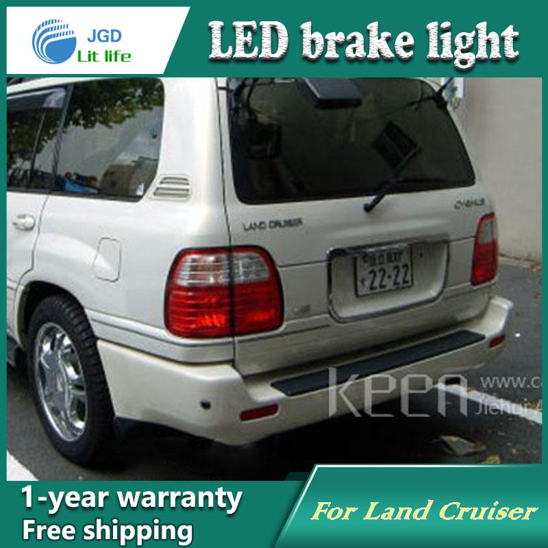 Car Styling Rear Bumper LED Brake Lights Warning Lights case For Toyota Land Cruiser 4500 4700 LC100 Accessories Good Quality for toyota land cruiser lc100 4700 fj100