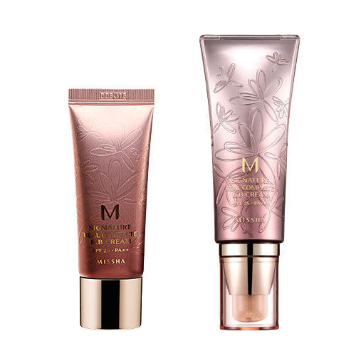 MISSHA M Signature Real Complete BB Cream SPF25 PA++ Concealer Primer Nude Foundation Base BB CC Cream Whitening Moisturizing