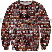 PLstar Cosmos Casual 3d printed Harajuku Sweatshirt Christmas Hoodies Style Hipster Crewneck Merry women men Gift Outfits Tops
