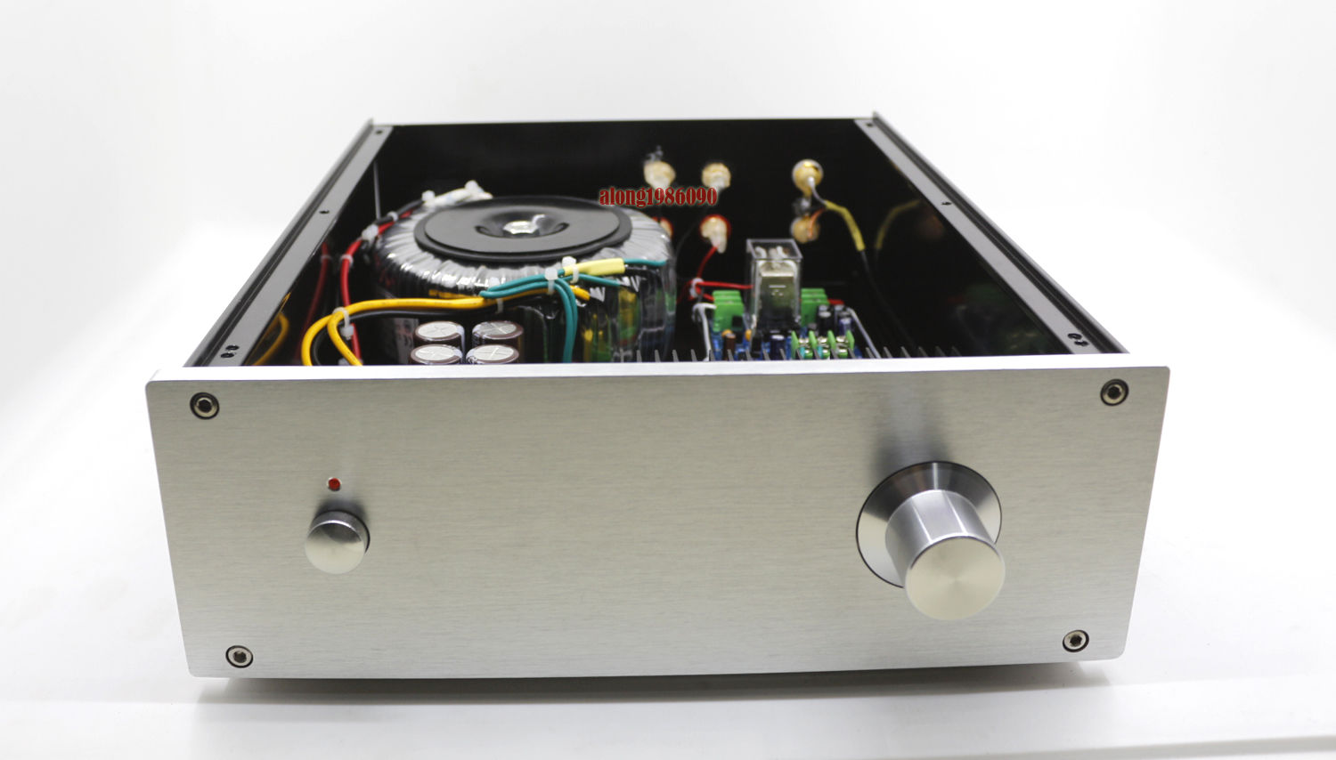 Finished LJM L25D HiFi Audio Stereo Power Amplifier With Speaker Protection AMP adjustable bass treble two divider hifi module game pwm modulation digital amplifier for speaker audio crossover repair parts