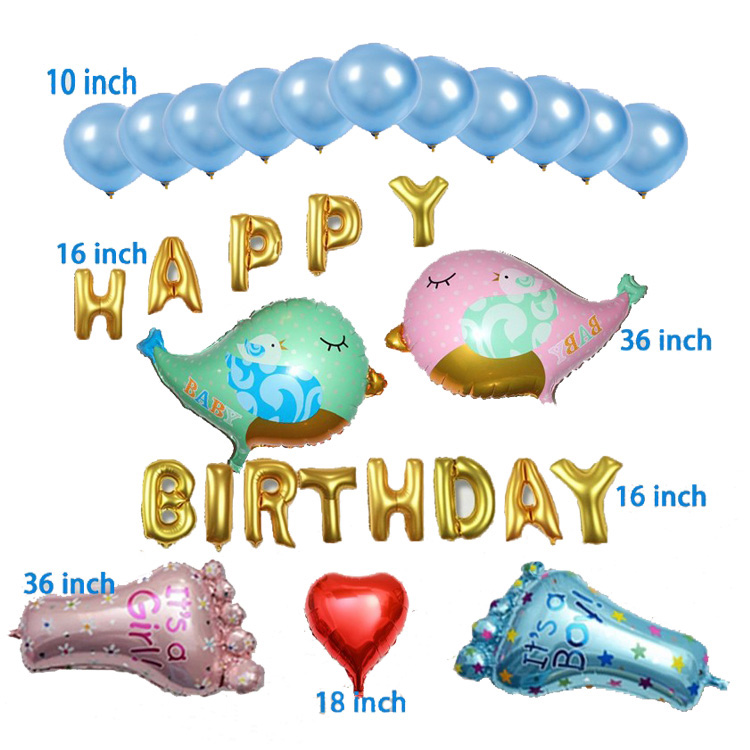 mickey minnie mouse party foil balloons combination for birthday decoration party cartoon balloons set 1 years boy girl gift
