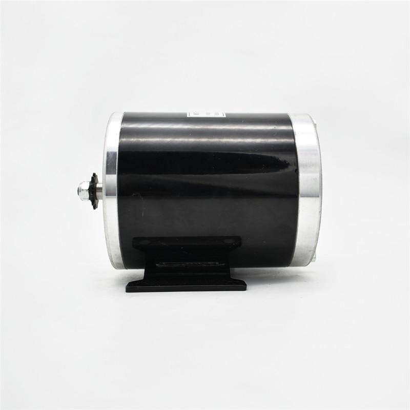 MY1020 500W24 / 36 / 48V 산업 드라이브 레저 자동차 전기 세발 자전거 고속 영구 자석 브러시 모터 전기 자전거