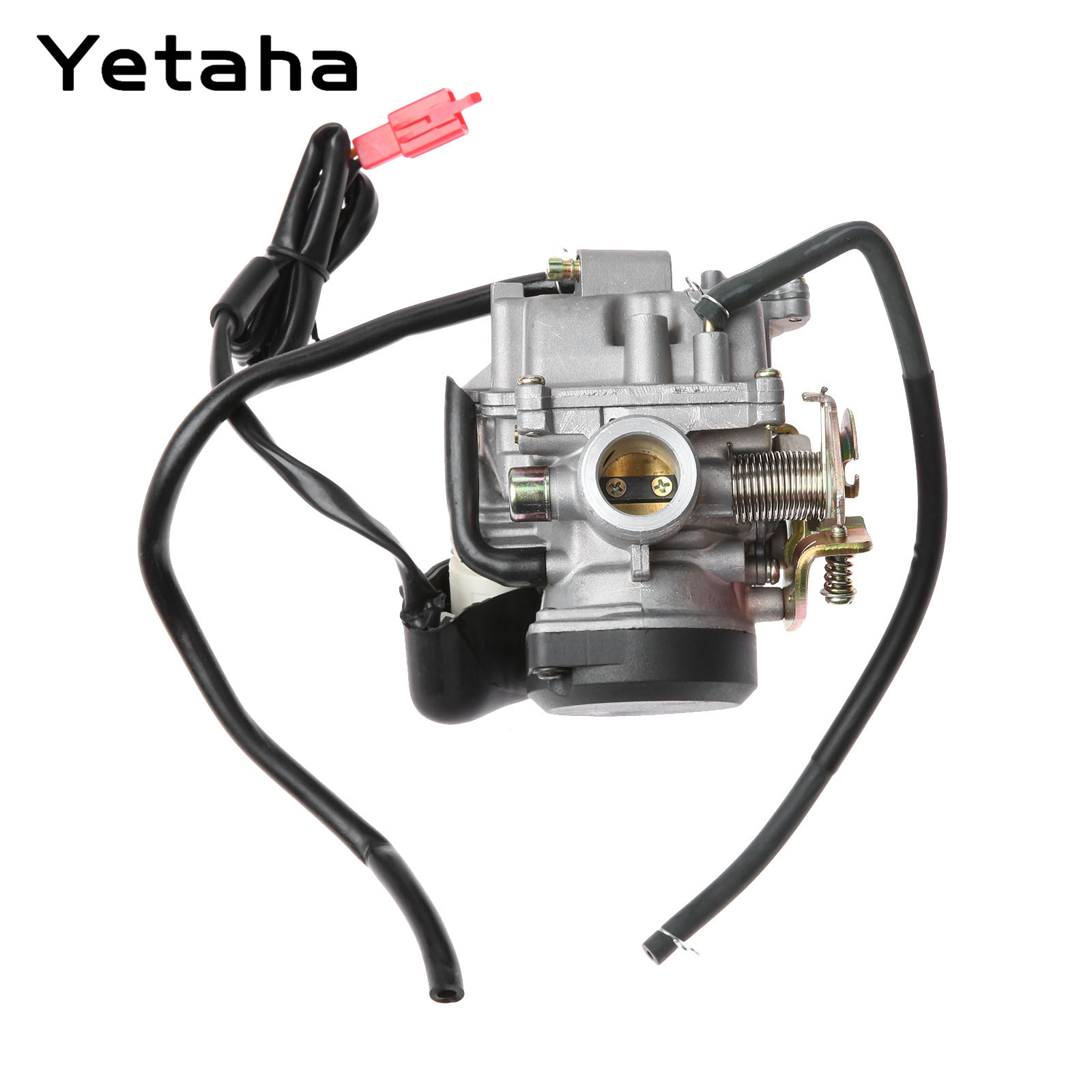 Motorcycle Carburetor Carb 18mm Carburettor For GY6 50cc 60cc 80cc 4 Stroke Scooter Moped ATV Pit Dirt Bike Motocross Carburador original 26mm mikuni carburetor for cbt125 cb125t cbt250 ca250 carburador de moto