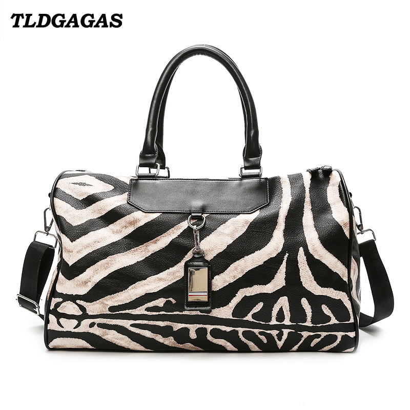 European and American style unisex travel bag large capacity female lug