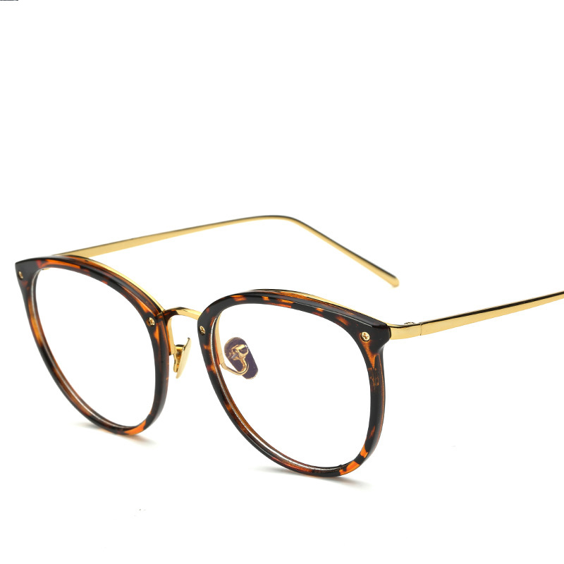 2017 New Metal Spectacles Frame Men And Women Retro Circular Frame Radiation Protection Computer Mirror qJyDzhkm