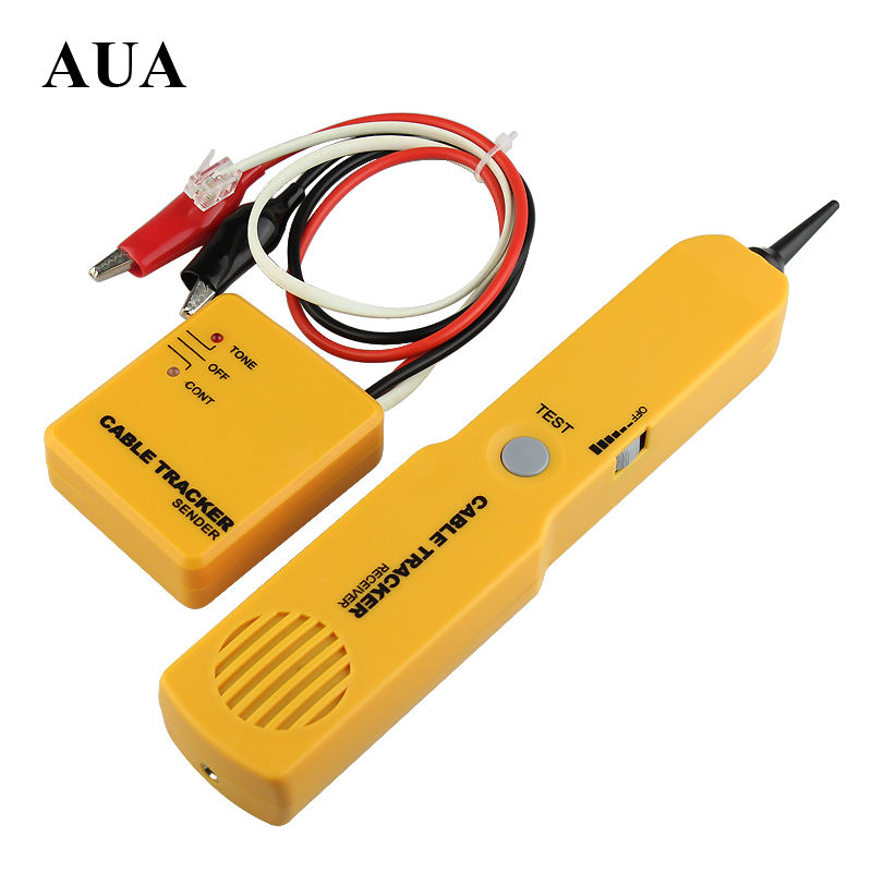 Tracker Diagnose Tone Finder Telephone Wire Cable Tester Toner Tracer Inder Detector Networking Tools(China)