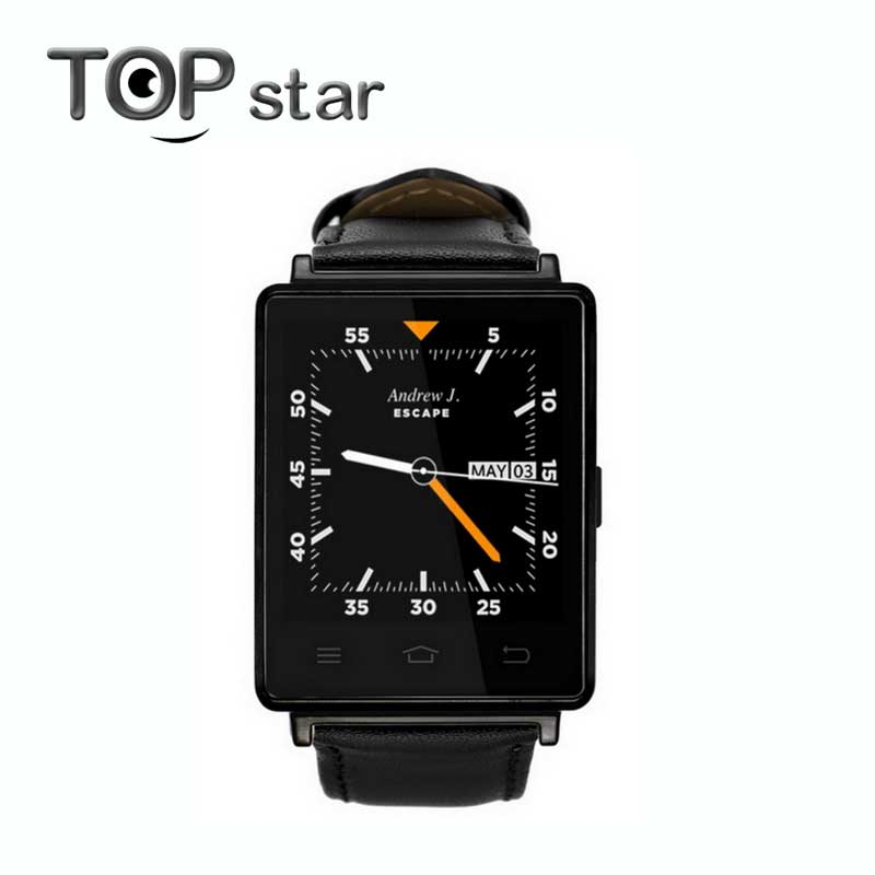 NO.1 D6 Smart Watch Phone Android 5.1 MTK6580 Quad Core1GB/ 8GB GPS SIM WiFi BT4