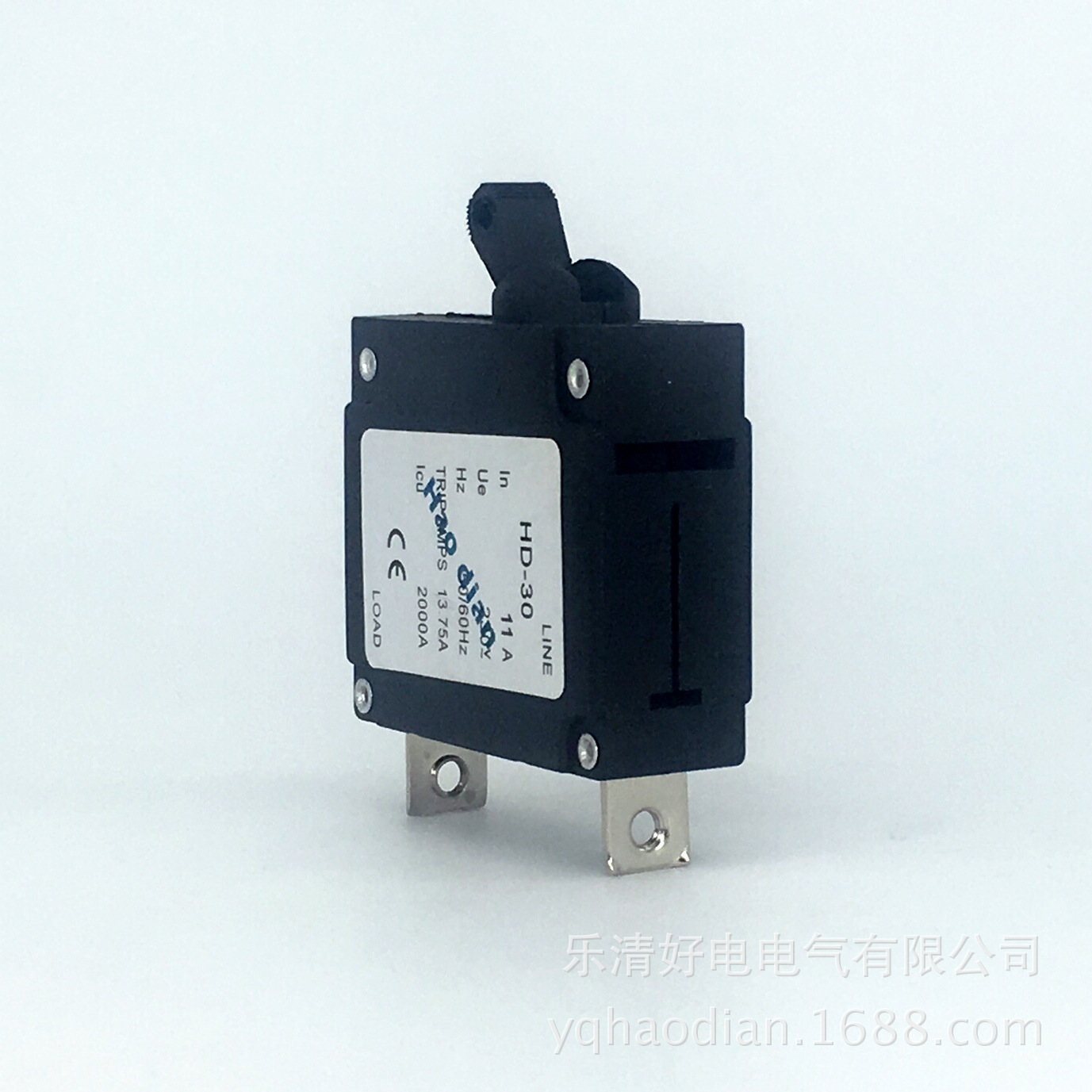 цена на 10pcs Hydraulic electromagnetic circuit breaker hd-30 1P/11A device protects the over-magnetic circuit breaker