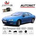 JIAYITIAN cámara de visión trasera para Peugeot 406 coupé 1997 license 2003 placa de matrícula cámara de visión nocturna cámara CCD de respaldo de cámara inversa