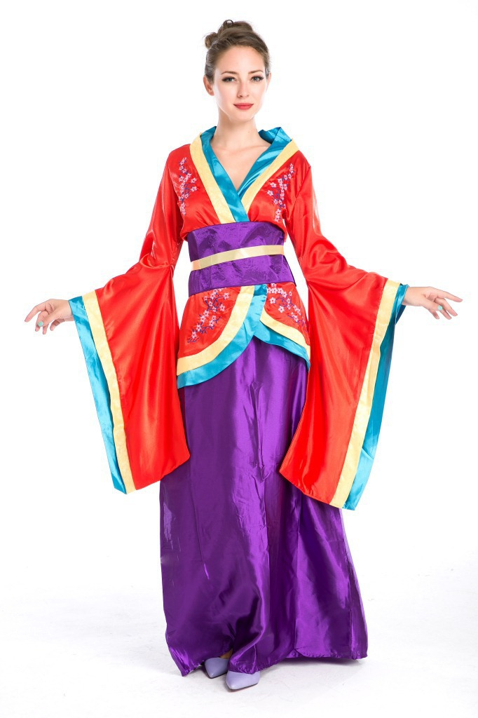 Halloween Costumes Japanese Geisha Costume Sakura Kimono Costumes Fancy Dress Cosplay Clothing For Women on Aliexpress.com | Alibaba Group  sc 1 st  AliExpress.com & Halloween Costumes Japanese Geisha Costume Sakura Kimono Costumes ...