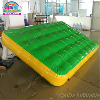 4m*2m*0.3m Air Track For Sale Special Inflatable Gymnastics Landing Mats , Inflatable Gymnastic Cushion For Sports Traing