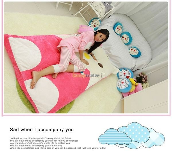 Fancytrader 200cm X 180cm Lovely Plush Stuffed Hello Kitty Mattress Bed Tatami Sofa Carpet, FT50670 (8)