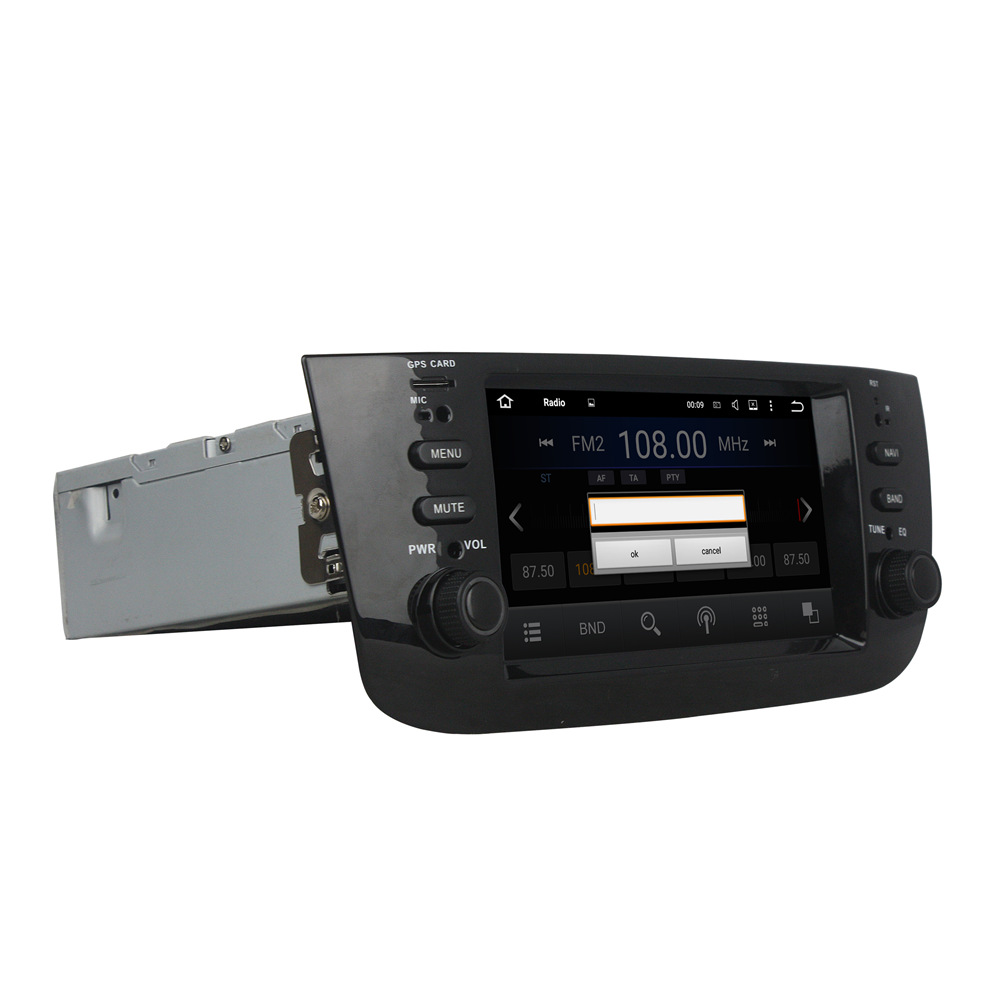 Оперативная память 2 г Встроенная память 16 г dvd-плеер Android 7.1.2 головное устройство для Fiat Linea 2014-2015 Wi-Fi GPS навигации BT Радио Bluetooth 3G/4 г