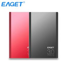 EAGET External Hard Drives 1TB HDD 2.5 Inch High Speed Type C 3.0 Hard Disk Ultra-thin USB C Mobile HDD For Laptops Desktop