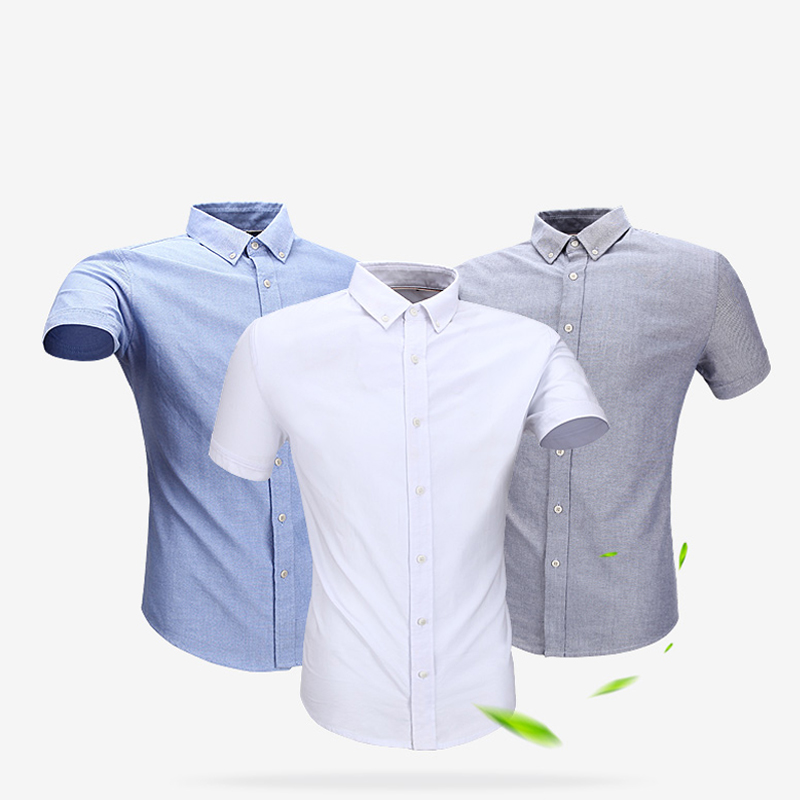 Langmeng new 100 cotton black white casual shirts for 100 cotton mens dress shirts