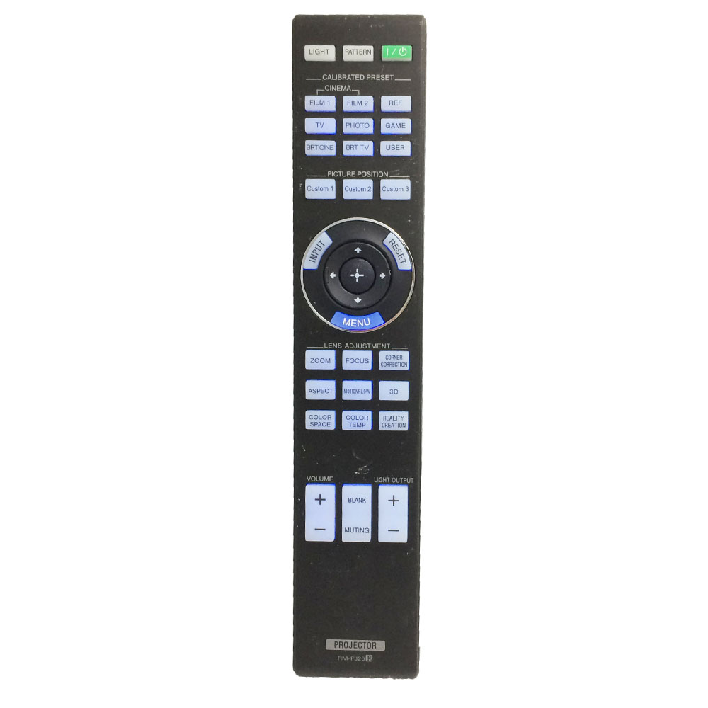RM-PJ26 Remote Control for 4K Ultra Short Throw Projector LSPX-W1/1 LSPXW1 Flat Panel Video