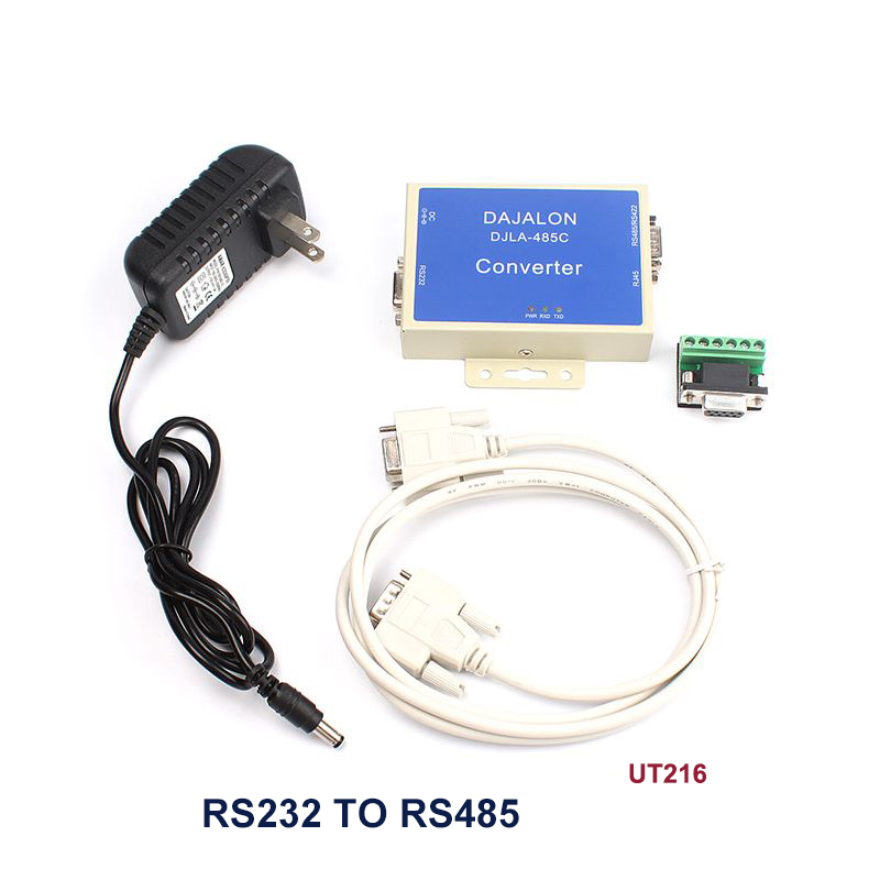 Newest External-powered RS-232 to RS-485/422 Interface Converter Surge prevention #76044 rs232 to rs485 422 converter switch 422 to 232 optical isolation module