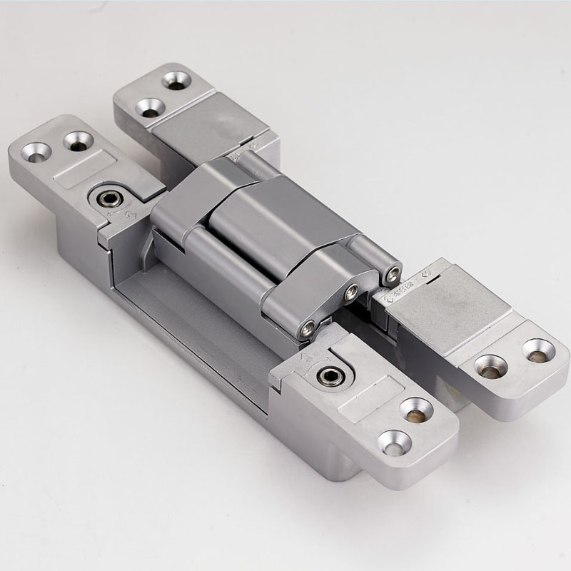 Concealed hinge 190*32*30mm three dimensional Adjustable Invisible Door Hinges 2pcs 1pcs hidden hinges size 28x118mm bearing 50kg invisible concealed cross door hinge stainless steel hinge for folding door kf1063
