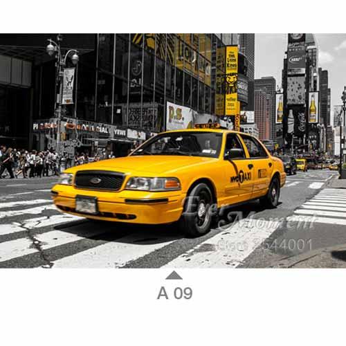 US $15 61 |Diamond Mosaic New York City Yellow Cab Painting Set Of  Embroidery Kits Home Decor Diy 5D Paint Cross Stitch Needlework ASF532-in  Diamond