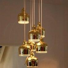 лучшая цена Post-modern Led Iron Light Pendant Lamp Living Room Restaurant Decor Hanging Lamp Kitchen Fixtures Lighting Luminaire Luminaria
