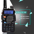 Walkie Talkie portable radio Baofeng UV-5RE Plus Dual Band Two Way Radio Pofung UV 5RE 5W 128CH UHF/VHF Dual Display radio