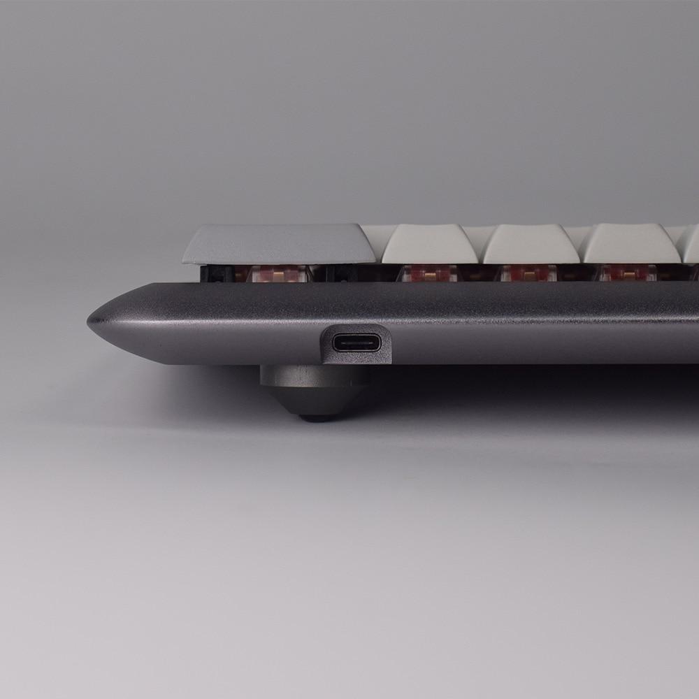 GK68 RGB アルミメカニカルキーボードキット半完成品 diy  グループ上の パソコン & オフィス からの キーボード & マウスセット の中 3