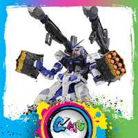 CMT Instock Metal Gear MC Spier Beer Modellen Metalen Bouwen Dwaalspoor Blauw + Wapen Pack + MB base Anime Speelgoed figuur