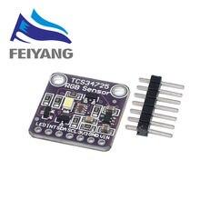 1個34725 TCS34725色センサーrgbカラーセンサー開発ボードモジュール
