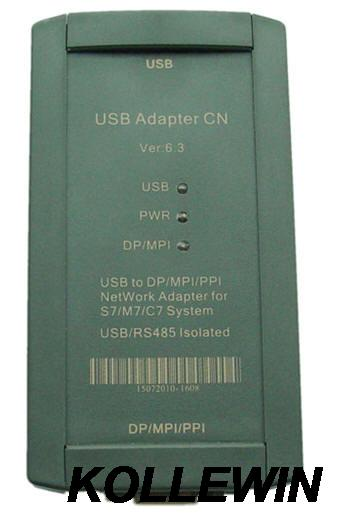 USB Adapter CN support PC USB to PROFIBUS/MPI/PPI for Simatic S7-200/300/400 PLC,6ES7 972-0CB20-0XA0 6ES7972-0CB20-0XA0 кардиган lime кардиган