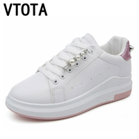 VTOTA Women Vulcanize Shoes 2018 Platforma Casual Shoes Sneakers Women Tenis Feminino Autumn White Student Walking Shoes H177