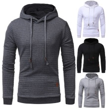 ZOGAA Brand Fashion New Mens Casual Solid Hoodies Autumn Streetwear Hooded Sweatshirts Leisure Outwear