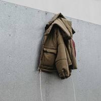 2018 Winter Xieruis Brand Designer Short Style Cotton Padded Men Jackets Coat Hiphop High Street Clothing
