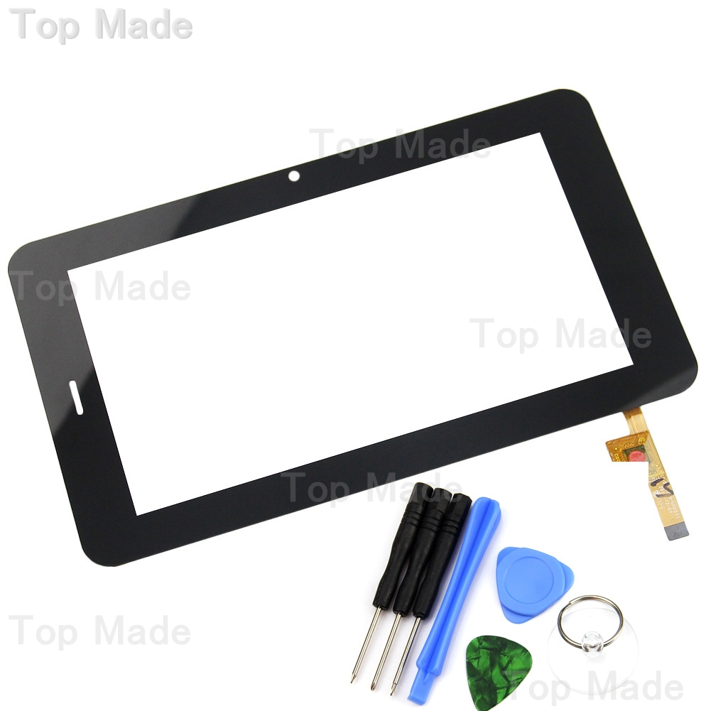 NEW 7 Inch Black Touch Screen EST-04-0700-0893V1 Glass Panel Digitizer with Repair Tools for Tablet PC