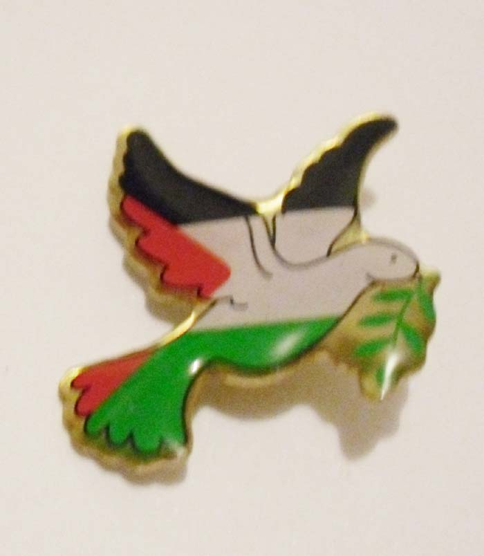 Custom 1 Silk Screen Printing Bird Lapel Pin Badge