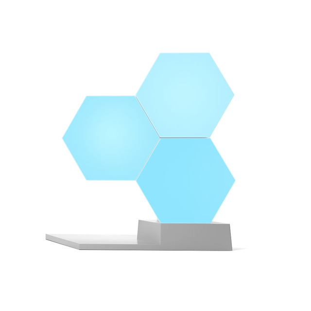 Lifesmart DIY Quantum Night Light Geometry Assembly USB Night Lamp Smart App Voice Control For Google Home Alexa Lamp