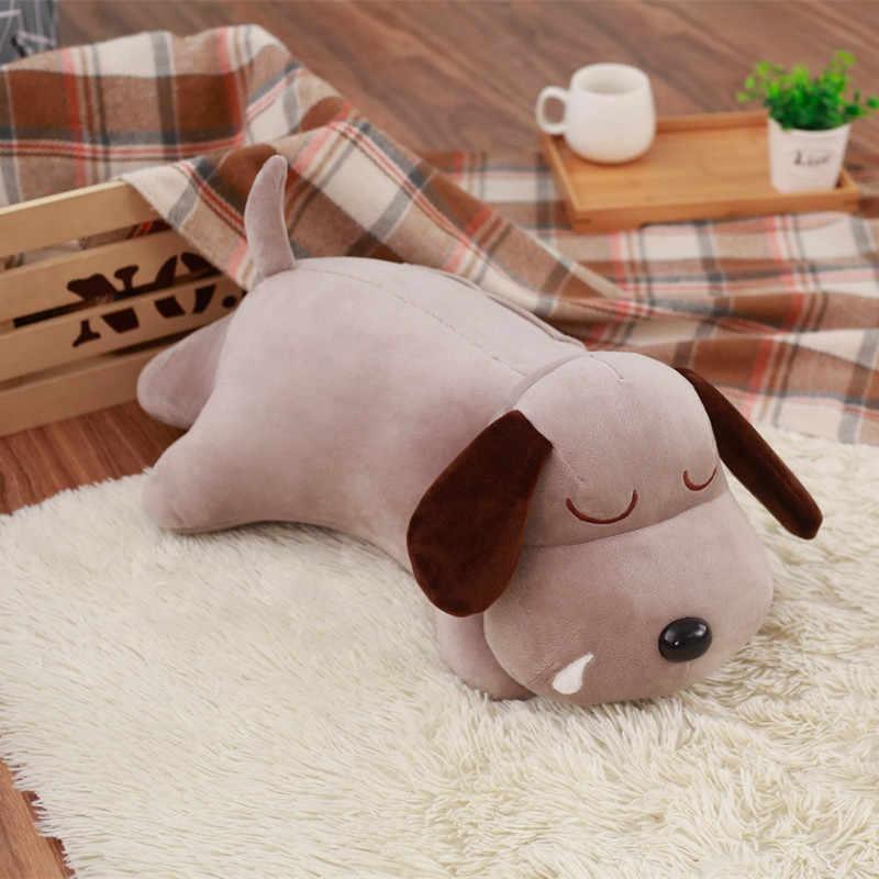 60 cm Sevimli Sümüklü peluş oyuncak Dolması Karikatür Oyuncak Köpek Oyuncak Bebek Çocuk Bebek Kukla Yaratıcı Kawaii doğum günü hediyesi Kızlar için çocuk